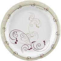Dart Solo HWP6-J8001 Symphony 6 inch Heavy Weight Paper Plate - 250/Pack