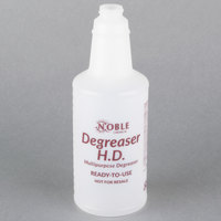 32 oz. Labeled Bottle for Noble Chemical Heavy Duty Degreaser (IMP 5032WG)