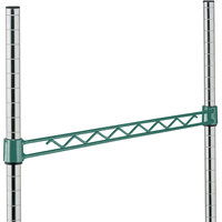 Metro H114-DHG Hunter Green Hanger Rail 14 inch