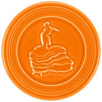 Homer Laughlin 443325 Fiesta Tangerine 6 inch Trivet - 6/Case