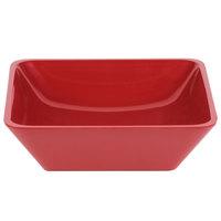 Cal-Mil 1707-10-64 Cranberry 10 inch Square Melamine Bowl
