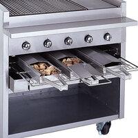 Bakers Pride 21884847-48R Radiant Charbroiler Stainless Steel Smoke Box