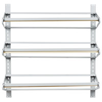 Bulman T292-36 36 inch Horizontal Three Paper Roll Wall Rack