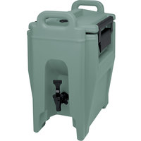 Cambro UC250401 Ultra Camtainers® 2.75 Gallon Slate Blue Insulated Beverage Dispenser