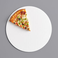 12 inch White Corrugated Pizza Circle - 250/Case
