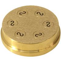 Avancini #386 Casarecce Pasta Die / Extruder for 13364 Pasta Machines - 8.8mm (11/32 inch)