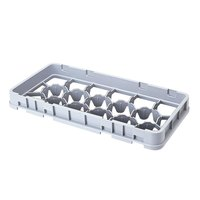Cambro 17HE1151 Camrack 17 Compartment Gray Full Drop Half Size Extender