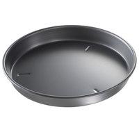 Chicago Metallic 91125 12 inch x 1 1/2 inch BAKALON Pre-Seasoned Aluminum Deep Customizable Dish Pizza Pan