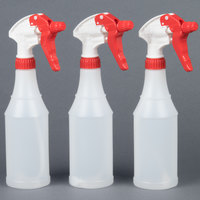 Continental 16 oz. Plastic Spray Bottle 3/Pack