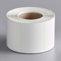 AvaWeigh 2 5/16 inch x 1 5/8 inch White Blank Permanent Direct Thermal Label - 700/Roll