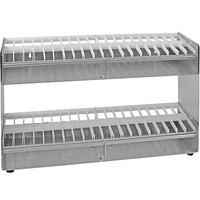Heat Seal PS-40 Aluminum Label Dispenser - 40 Roll Capacity