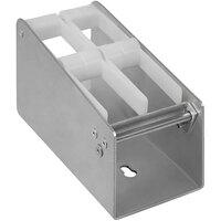 Heat Seal PS-2 Aluminum Label Dispenser - 2 Roll Capacity