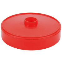 HS Inc. HS1043 7 inch Red Chile Heavy Duty Polypropylene Tortilla Server - 24/Case
