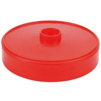 HS Inc. HS1043 7 inch Red Chile Heavy Duty Polypropylene Tortilla Server - 24 / Case