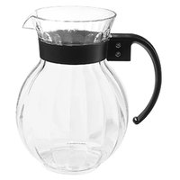 GET P-4072-CL 2.25 Qt. Tahiti Clear Plastic Pitcher - 12/Pack