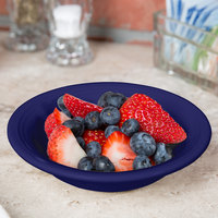 Tuxton CCD-052 Concentrix 4.5 oz. Cobalt China Fruit / Monkey Dish - 24/Case