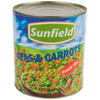 Sweet Peas and Diced Carrots - #10 Can