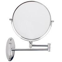 Conair 41741W 8 inch Diameter Wall Mount Mirror