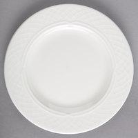 Homer Laughlin by Steelite International HL8746900 Kensington Ameriwhite 6 1/4 inch Bright White China Plate - 36/Case