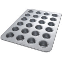 Chicago Metallic 45605 24 Cup Glazed Cupcake / Muffin Pan - 17 7/8 inch x 25 7/8 inch