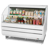 Turbo Air TOM-40S Slim Line 39 inch White Horizontal Air Curtain Display Case