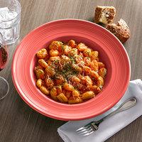 Tuxton CND-120 Concentrix 24.5 oz. Cinnebar China Soup / Pasta Bowl - 6/Case