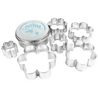 Ateco 7806 6-Piece Stainless Steel Plain Daisy Cutter Set (August Thomsen)