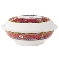 GET KT-050-L Dynasty Longevity 2.18 Qt. Bowl with Lid - 12/Case