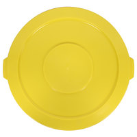 Continental 3201YW Huskee 32 Gallon Yellow Trash Can Lid