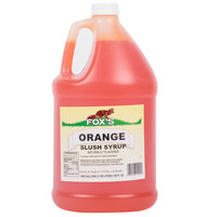 Fox's Orange Slush Syrup - 1 Gallon