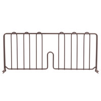 Metro DD21-DCH 21 inch Copper Hammertone Wire Shelf Divider