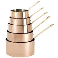 De Buyer 6445.14 1.3 Qt. Copper Sauce Pan