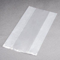 LK Packaging P12G03138 Plastic Food Bag 3 inch x 1 3/4 inch x 8 1/4 inch - 2000/Box