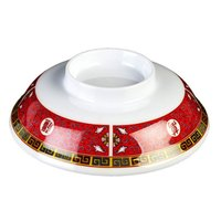 Longevity 5 1/4 inch Melamine Lid for Noodle Bowl - 12 / Pack