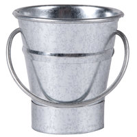 American Metalcraft GP2 Mini Galvanized Pail - 2 1/2 inch