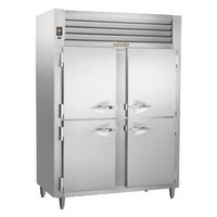 Traulsen RHT226WUT-HHS Stainless Steel 40.8 Cu. Ft. Two Section Solid Half Door Shallow Depth Reach In Refrigerator - Specification Line