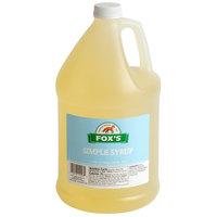 Fox's 1 Gallon Simple (Sugar) Syrup - 4/Case