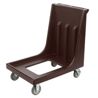 Cambro CD1826MTC131 Camdolly Dark Brown Dolly for 1826MTC Camcarrier / Sheet Pan Carrier