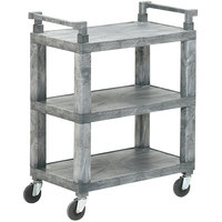 Vollrath 97112 3 Shelf Utility Cart - 200 lb. Capacity