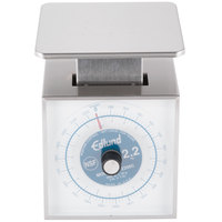Edlund SR-2200C Premier Series 5 lb. / 2200 g Mechanical Portion Scale 6 inch x 6 3/4 inch Platform