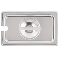 Vollrath 75240 Super Pan V 1/4 Size Slotted Stainless Steel Steam Table / Hotel Pan Cover