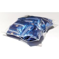 Plastic Food Bag 6 inch x 9 inch Slide Seal - 250/Case