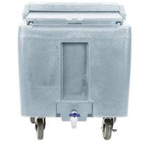 Cambro ICS125LB401 SlidingLid™ Slate Blue Portable Ice Bin - 125 lb. Capacity