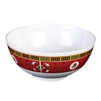 Thunder Group 5206TR Longevity 25 oz. Round Melamine Rice Bowl - 12/Case