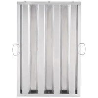 Regency 25 inch x 16 inch x 2 inch Stainless Steel Hood Filter