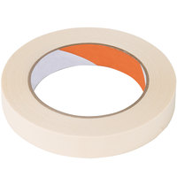 3/4 inch Masking Tape Roll - 60 Yards - 12/Pack
