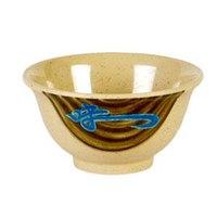 Wei 6 oz. Round Melamine Rice Bowl - 24/Pack