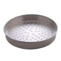 American Metalcraft T4016SP 16 inch Super Perforated Straight Sided Pizza Pan - Tin-Plated Steel