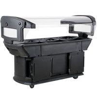 Carlisle 771103 Black 6' Maximizer Portable Food / Salad Bar