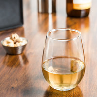 Libbey 217 12 oz. Customizable Stemless White Wine Glass - 12/Case